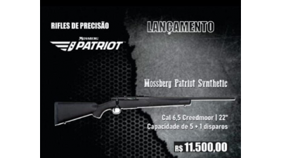 Rifle Mossberg Patriot Synthetic